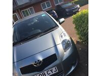Toyota Yaris. Automatic. Grey Colour.12 Month MOT and recent service