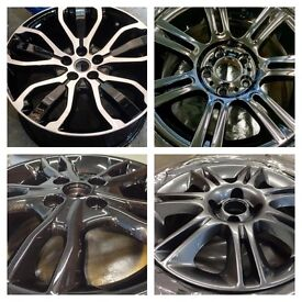 Alloy wheel refurbishment / refurb / machine polishing