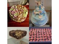 Beautiful handmade bespoke celebration cakes