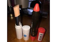 NEW NO7 CONCEALER AND CORAL LIP COLOUR