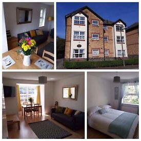Penarth Short Term Lets - Excellent Two Bedroom Apartment - Business or Leisure, Bills Included