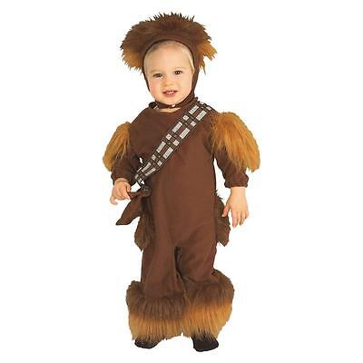 STAR WARS CHEWBACCA Disney 4 Piece Costume Halloween Toddler Boys 3T 4T - Chewbacca Toddler Costume