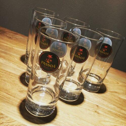Lot de 6 verres Passoa long drink