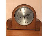 Vintage striking mantel clock circa 1950