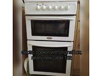 washer, fridge, carpet cleaner, shopping trolley bags,cooker, dehumidifier