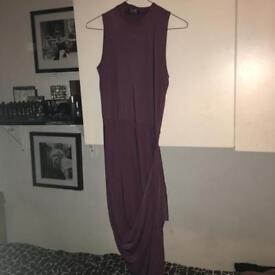 Women's sexy Aubergine/ purple dress