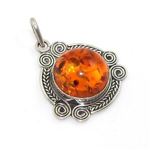 Amber pendant ebay vintage amber pendants mozeypictures Gallery