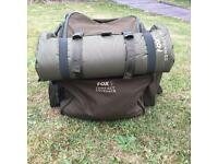 Fox compact rucksack and unhooking matt