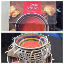 Pasta bowl set North Narrabeen Pittwater Area Preview