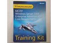 MCITP Windows Server 2008:Enterprise Admin Kit:Full Microsoft Self-Paced Learning Pack - 4 books