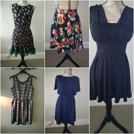 Size 6/8/10 bundle of women's clothes, dresses and skirts, all new