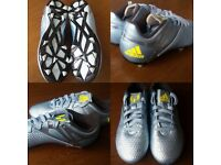 Boys adidas football boots size 2 worn once