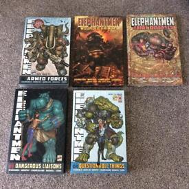 Elephantmen 0-4 Graphic Novels