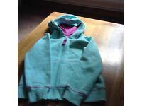 Trespass Girls zip up hooded top Brand new unworn