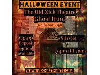 Ghost hunt at the old nick theatre in gainsbrough