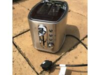 Morphy Richards Toaster. Used Once. RRP £65.00