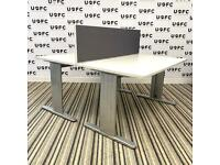 Adjustable Beam Double Desk