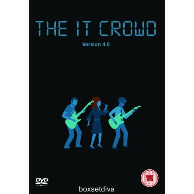 THE IT CROWD COMPLETE VERSION 4.0 ***BRAND NEW DVD**