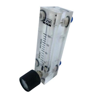 Plastic 16-160ml Oxygen Air Flow Meter Panel Type Home Working Supplies