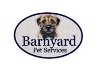 Barnyard Pet Services, Dog Walking, Dog Home Boarding and Pet Sitting