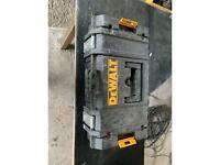 Dewalt T Stak tool box only.