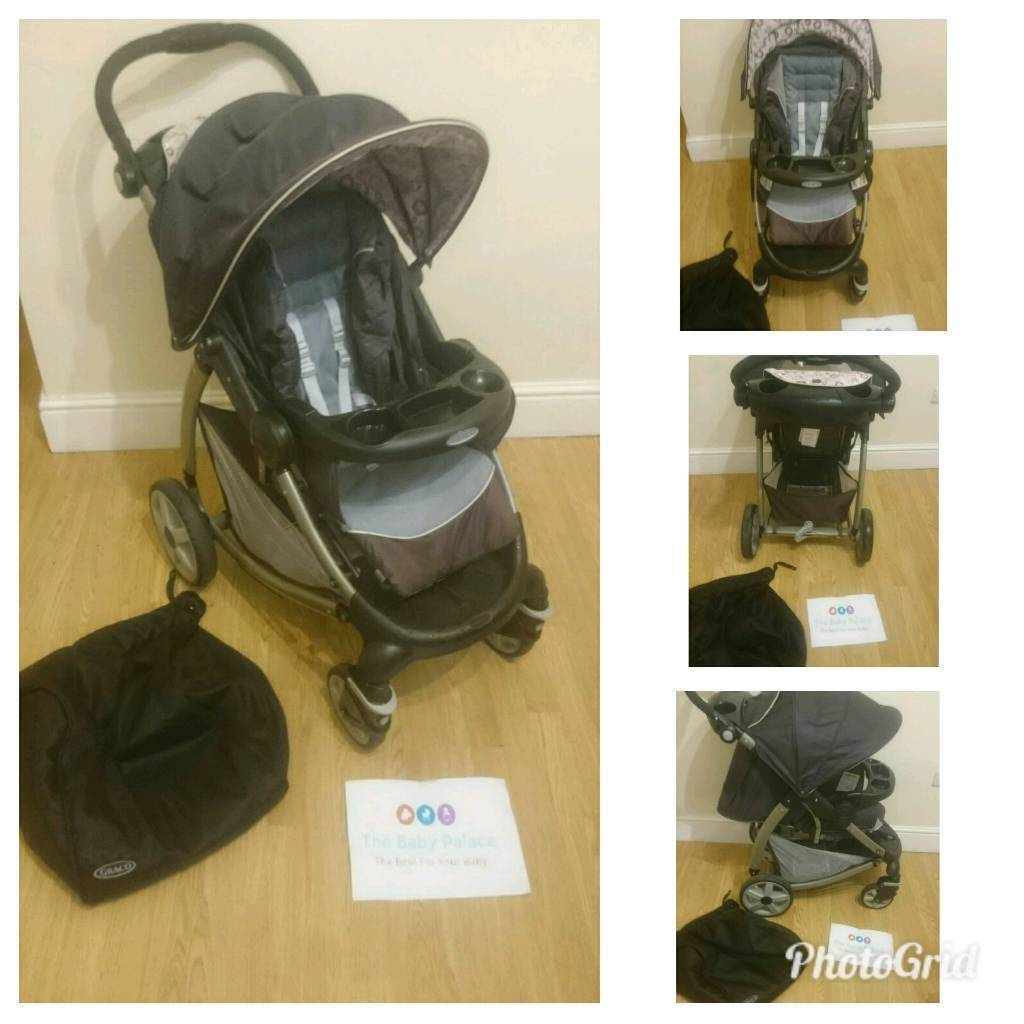 Bronze frame graco with extendable hood