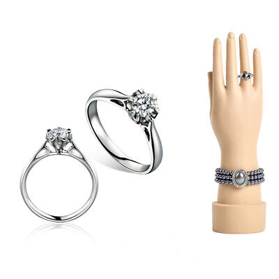 Female Mannequin Hand Arm Display Base Women Gloves Jewelry Model Stand