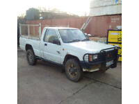 Mitsubishi L200 2.0 petrol 4X4 pick up. Low miles.