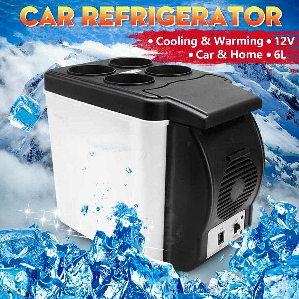 6L Mini Refrigerator Fridge Portable Travel Auto Car 12V Fre