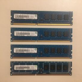 Ramaxel 4x4GB 240-Pin DDR3 1600