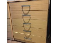 Three units of drawers - £20 each