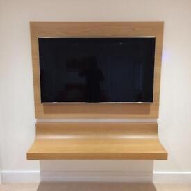 Wall hung TV unit