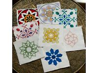 Hand-painted greetings cards ( Birthday / Eid / Celebrations )