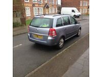 Vauxhall Zafira 1.6 i 16v Life MPV 5dr Petrol Manual ,12 months M.O.T