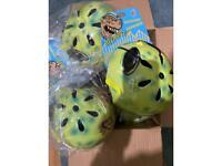 BARGIN OFFER - Job Lot 5 x Kids Alien Bike Helmets ALL NEW