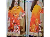 Digital Printed Short Kutri Tops