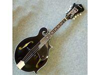Savanah SF-100 bk F style Mandolin c/w Case