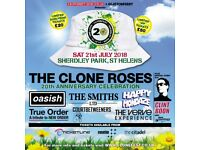 4 VIP tickets for Clonefest 2018 St Helens . Cash only , no cheques etc. buyer collects .