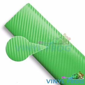 3D Green textured Vinyl Car-Van-all purpose Wrap sheets, All sizes