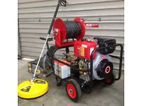 Diesel Pressure Washer 3000P.S.I. Free Whirlaway & Turbo nozzle