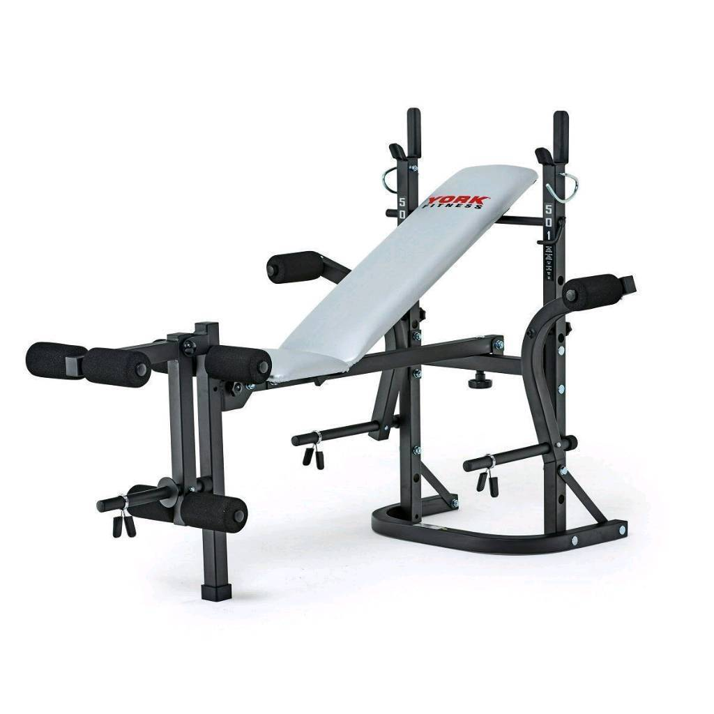 Weight Bench With Pull Up Bar Part - 19: York Weight Bench And Pull Up Bar