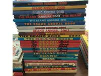 Beano-Dandy-Sparky-Whizzer and chips etc annuals