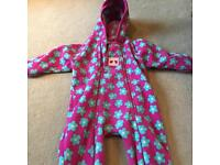Various children's jackets, all in ones, gillets