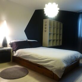 Large Double Room in Beautiful Flat Share in Hulme. Fully Furnished - All Bills Included.