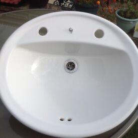 Bathroom Sinks Gumtree plastic bathroom sink suitable for caravan. white. nearly new
