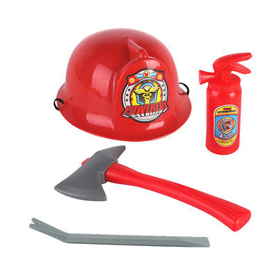 Kids Halloween Fireman Firefighter Role Play Costume for Kids Boys & Girls - Fireman Costumes For Kids