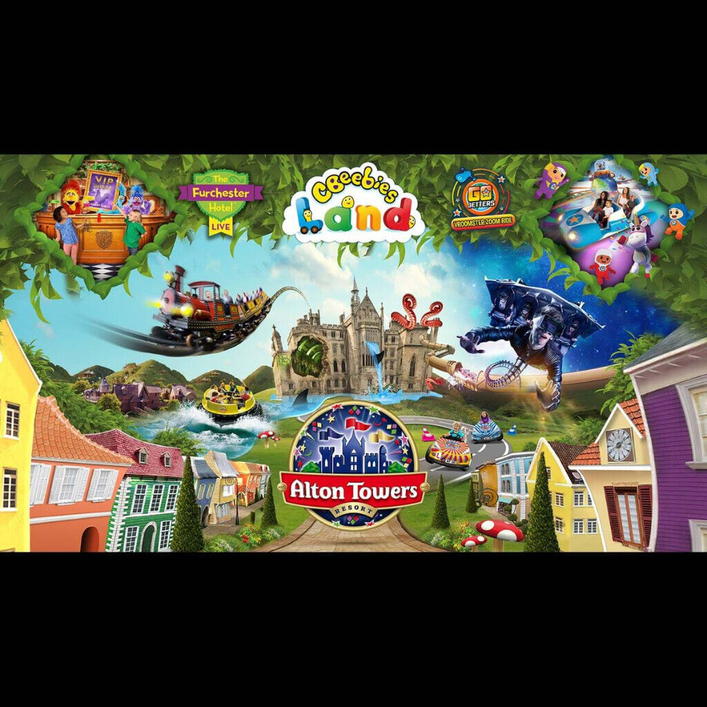 Alton Towers   Two tickets   | in Plaistow, London | Gumtree