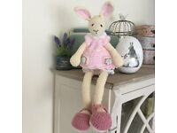 Unique New Handmade Crochet Easter Bunny Rabbit with long legs