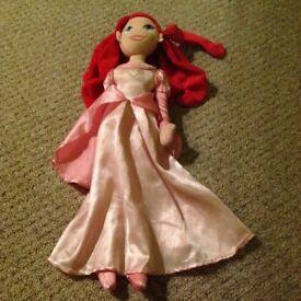 Disney plush dolls