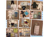 0-3 baby boy bundle excellent condition approx 106 items